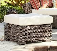 Cushion Ottoman Pottery Barn Outdoor Ottoman Cushion Cover Outdoor Designs