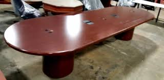 12 u0027 wood veneer conference table dynamic office services