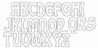 large bubble letter stencils to print docoments ojazlink