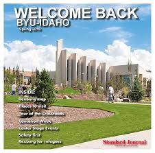 Byui Campus Map Welcome Back Byu Idaho Spring 2016 By Standard Journal Issuu