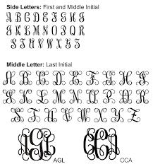 wording wedding invitations3 initial monogram fonts vine monogram font test drive to generate monograms