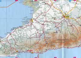 Map Cuba Pilon Bayamo Road Map Pilon Cuba U2022 Mappery