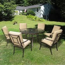 patio table ideas furniture ideas hexagon patio table with cream iron patio