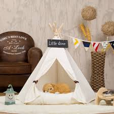 Clamshell Dog Bed by Enchanting Dog Bed Teepee 144 Dog Teepee Bed Australia Dog Beds