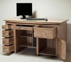 Desk With Computer Storage Gorgeous Desk With Computer Storage Awesome Home Design