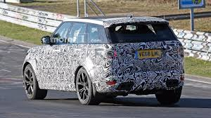 land rover svr price land rover range rover sport svr spied lapping the u0027ring