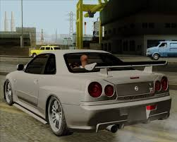 Nissan Gtr R34 - nissan skyline gtr r34 for gta san andreas