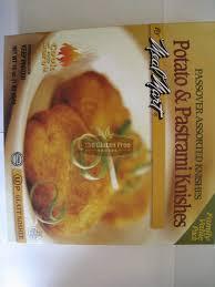 gluten free passover products gluten free potato pastrami knishes frozen foods gluten free
