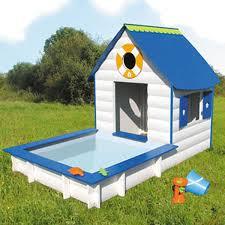 casetta giardino chicco casetta legno giardino con piscina soulet giocattolo eurekakids
