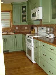 kitchen light green painted kitchen cabinets ideas on pinterest