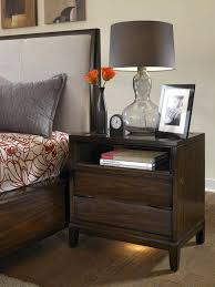 Cherry Nightstand With Drawers Tall Bedside Tables With Drawers Furniture Cherry Wood Nightstand