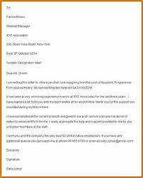 8 letter of resignation 2 weeks notice cashier