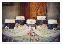 tree stump cake stand rustic california wedding mike real weddings 100