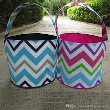 wholesale easter buckets 2018 ready in stock wholesale blanks rainbow chevron easter