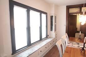 Dining Room Blinds by Appealing A Extra Modern Living Room With Ikea Blinds Living Room