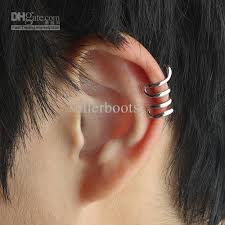 earrings ear 49 whole ear earring aliexpresscom buy silver needle simulated