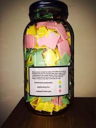 365 sprüche für jeden tag geschenk für die freundin das 365 glas die schönste liebesgabe
