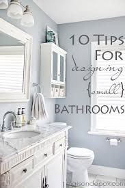 ideas for small bathrooms 10 tips for designing a small bathroom maison de pax