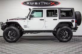 modified white jeep wrangler 2018 jeep wrangler rubicon recon unlimited white