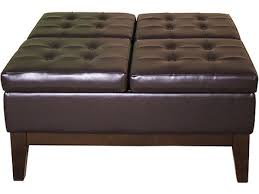 large ottoman coffee tables large square ottoman extra large