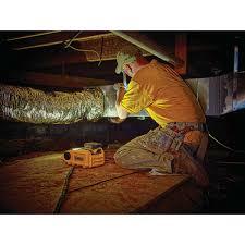 dewalt 20v area light dewalt dcl060 18v 20v max led hand held area light cordless