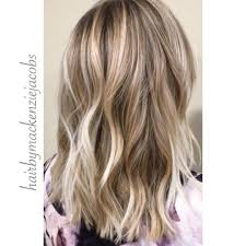 short brown hair with light blonde highlights ash blonde highlights lived in color on light brown hair mid length