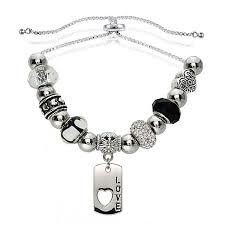 dazzling designs adjustable charm bracelet jcpenney