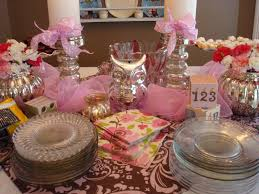 baby shower table decoration ideas of different shapes