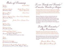 Wedding Program Templates Word Wedding Program Templates Doliquid