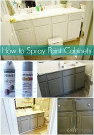 Bathroom Ideas Paint Update Your Bathroom Cabinets For Under 70 Bathroom Cabinets