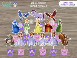 sofia the cake topper sofia the centerpiece sofia cake topper sofia the