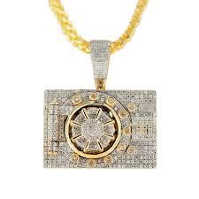 diamond box necklace images 1jdp 3 diamond safe box pendant johnny dang co jpg
