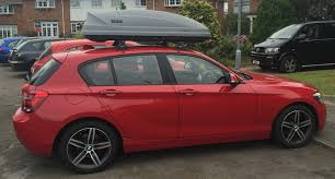 bmw 1 series roof bars bmw 1 series roofbox 2 hire