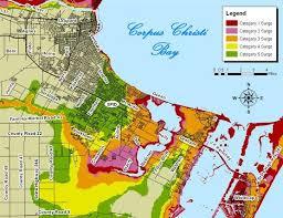 map of corpus christi surge maps kristv com continuous coverage corpus