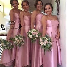 Dusty Rose Wedding Dress Popular High Low Dress Rose Buy Cheap High Low Dress Rose Lots