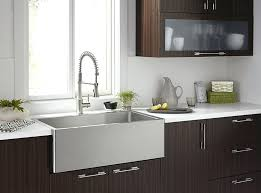 Stainless Steel Apron Front Kitchen Sinks Apron Front Sink White Sinks Interesting Apron Front Kitchen Sink