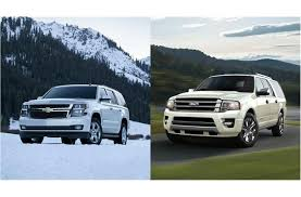 ford explorer vs chevy tahoe 2017 chevrolet tahoe vs 2017 ford expedition to u s