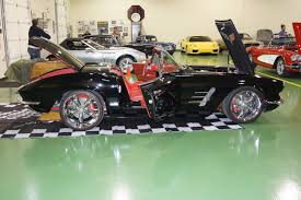cool 62 corvette restomod full octane garage