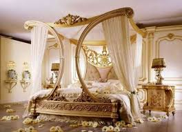 Luxurious Bed Frames Magnificent Bridal Bedroom Decoration With Luxury Bed Frame And