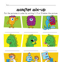 sequencing worksheets all kids network