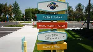 Orlando Parks Map by Cabana Bay Beach Resort Distance From The Parks