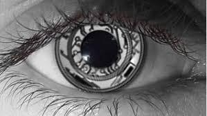 Halloween Costume Contact Lenses Pair Terminator Cyborg Robot Eyes Eye Contacts Lenses Halloween