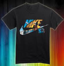 Baju Gambar Nike jual kaos nike sport logo custom hitam kode nk001 kaoscustom