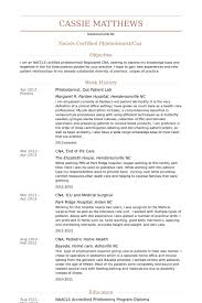 Pediatrician Resume Sample by Phlebotomist Resume Samples Visualcv Resume Samples Database