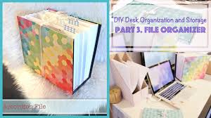 Cheap Desk Organizers by Diy File Organizer From Recycled Box Desk Organization And