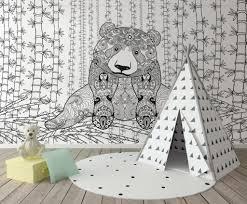 tapisserie chambre d enfant le papier peint chambre d enfant original