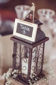 Lantern Centerpiece Lantern Centerpiece With Chalkboard Table Numbers