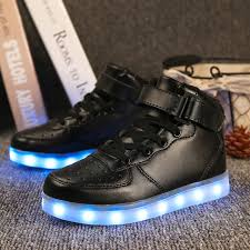 light up shoes gold high top led light up shoes gold high top girls and boys luces dorado fashion