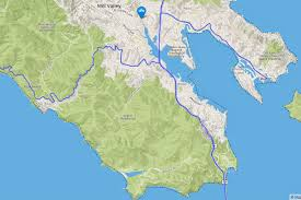 San Francisco Bike Map Biking Around The Bay U2013 A Monitor Photo Tour U2013 Bay Area Monitor