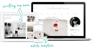 wordpress theme valentine minimal wordpress templates